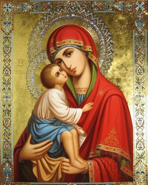 Кому читать молитвы, икона Девы Марии