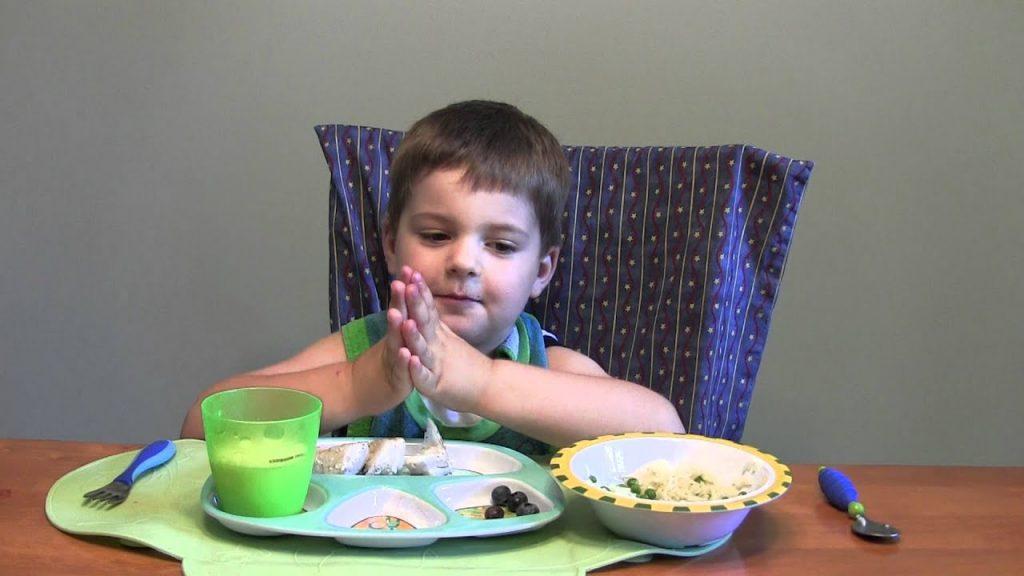 Детская молитва перед едой – читать онлайн или скачать бесплатно