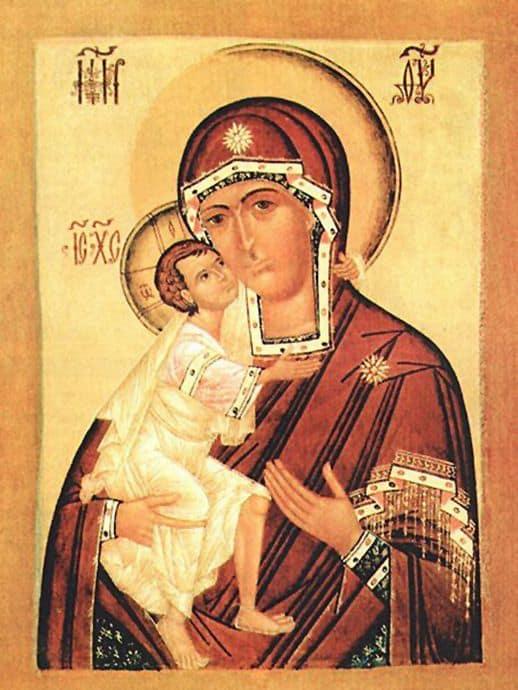 Молитва Божией Матери перед ее иконой «Федоровской» при родах дочери для рождении здорового ребенка – читать онлайн