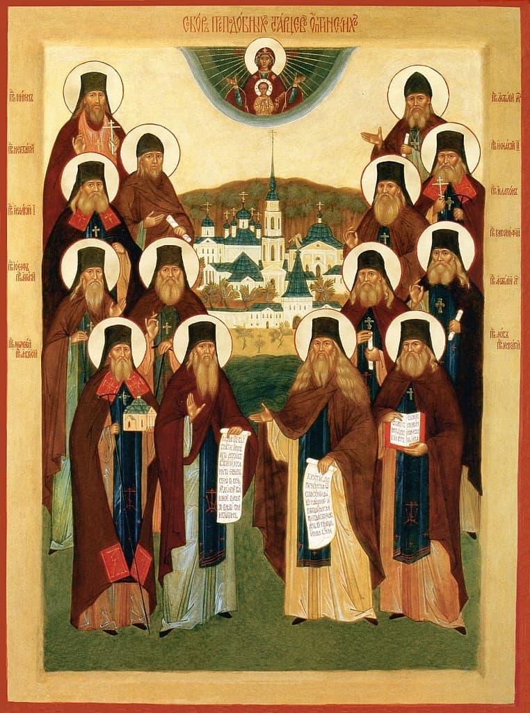 Текст молитвы Оптинских старцев на начало дня – читать онлайн