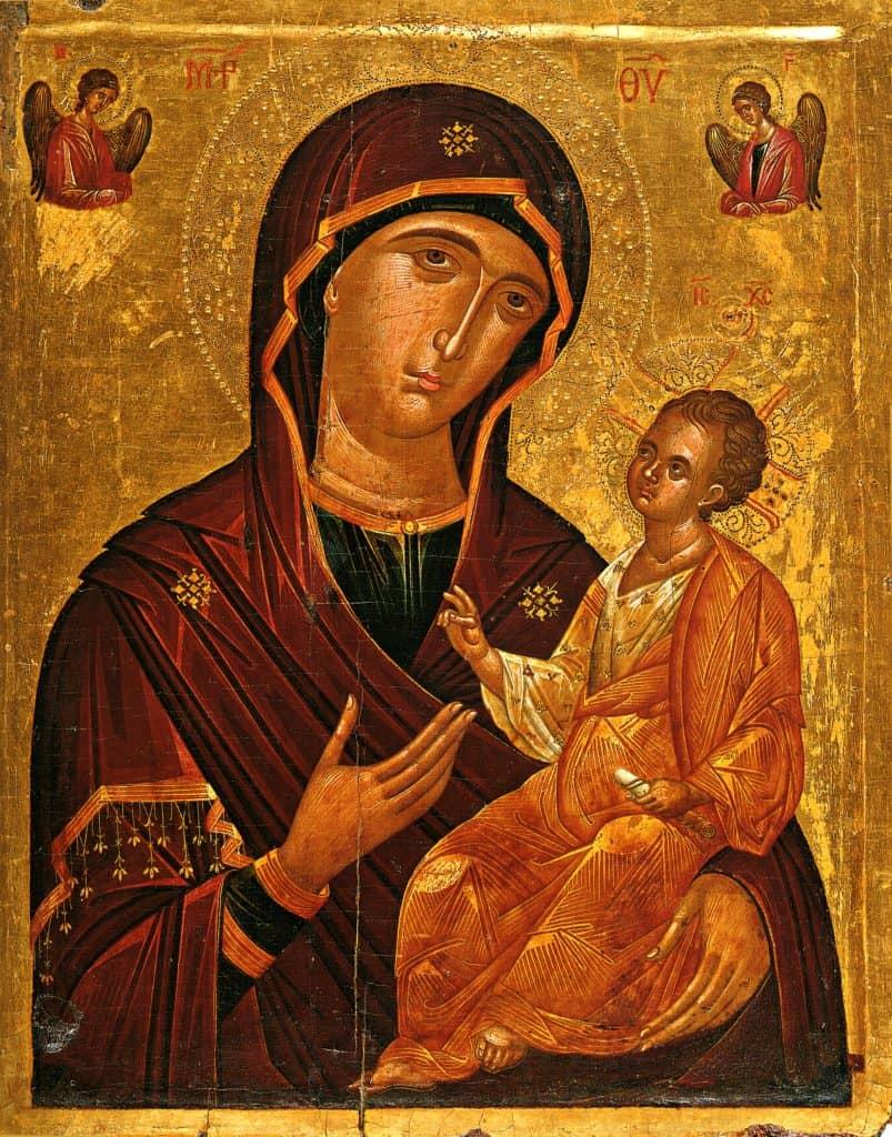 Текст молитвы ко Пресвятой Богородице молимся о тех, кто в пути