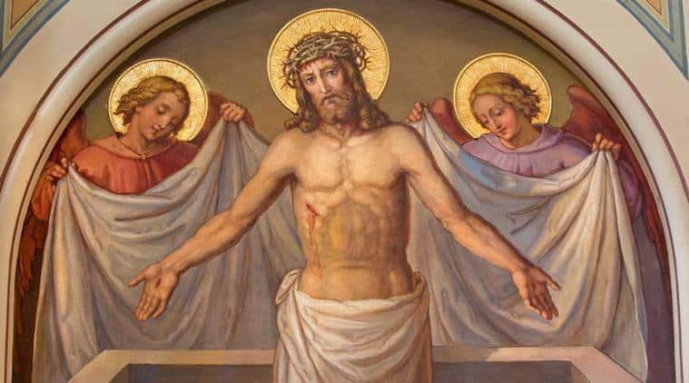 Молитва в пасхальную ночь «Христос Воскресе из мертвых» – читать текст онлайн на русском языке с ударением