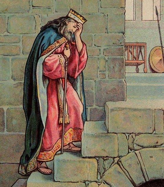 «Псалом 3» Царя Давида на старославянском языке с ударением