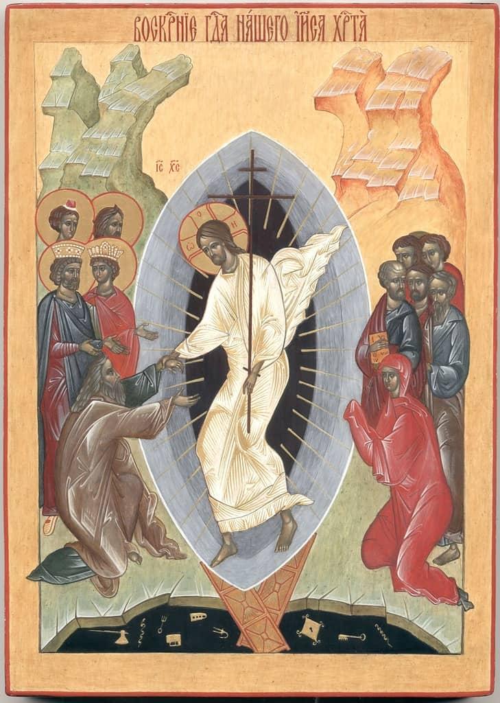 Перед какой иконой произносить молебен в час Пасхи