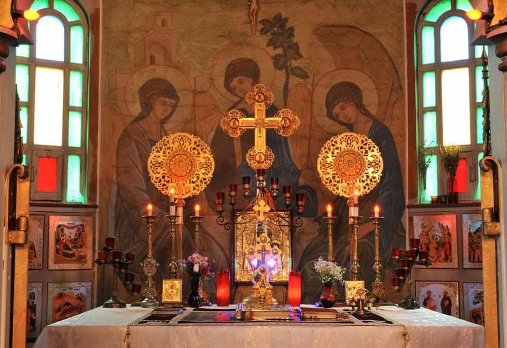 Читать молитву последование водосвятного молебна